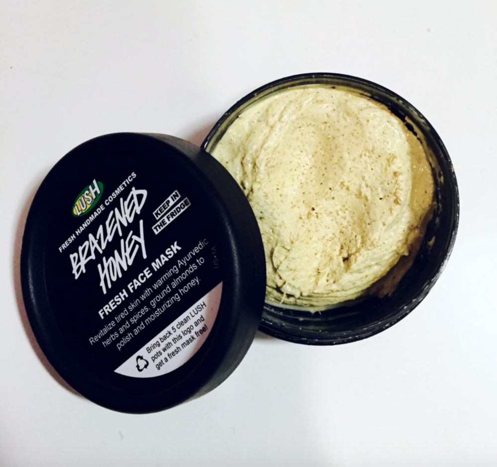 Some of you may know I used to work for LUSH- it was both a blessing and a curse. Before working there Irish Spring was my one and only but like many relationships that didn't last. This face mask really helps with sudden Starbucks breakouts and makes my skin so soft.   $10 per pot (has to be purchased in-store).
