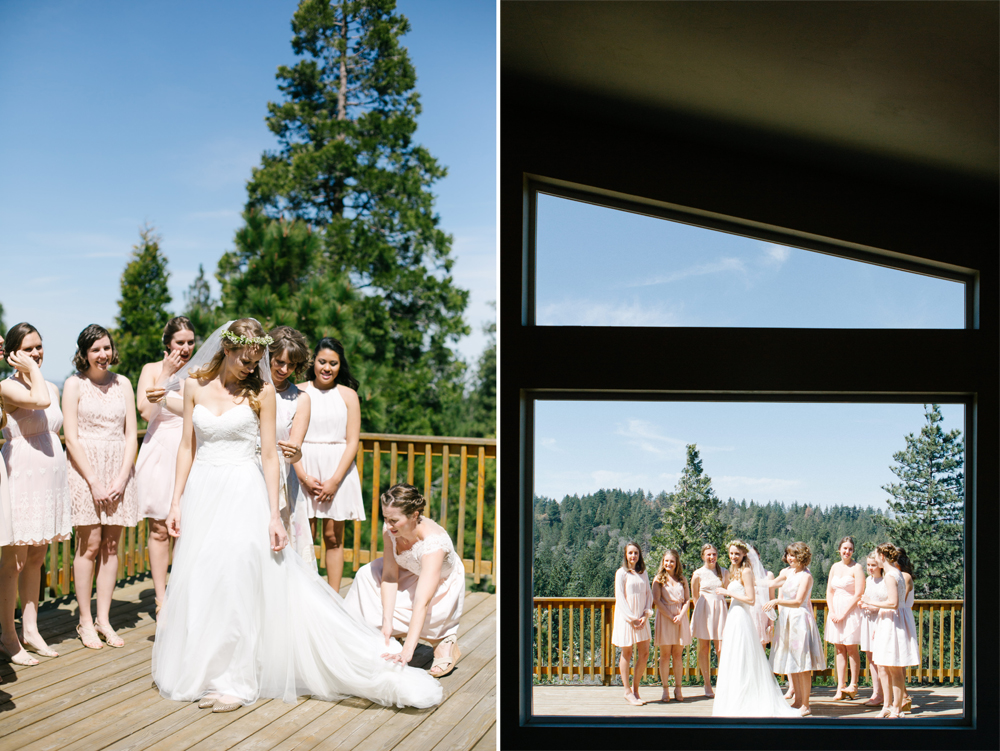 thousand pines wedding photographer