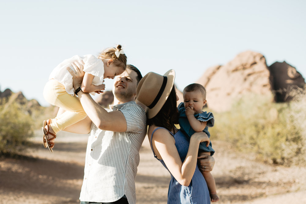 papago park family photographer