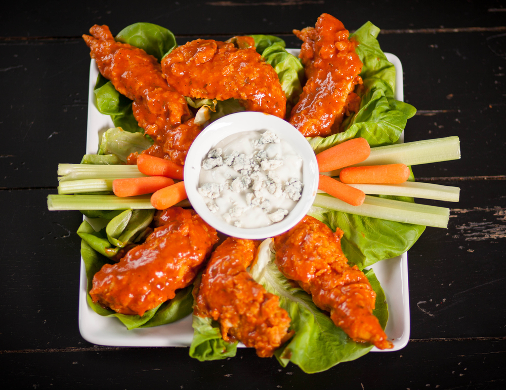 JB's Best Hearty Hot Sauce Buffalo Chicken Fingers