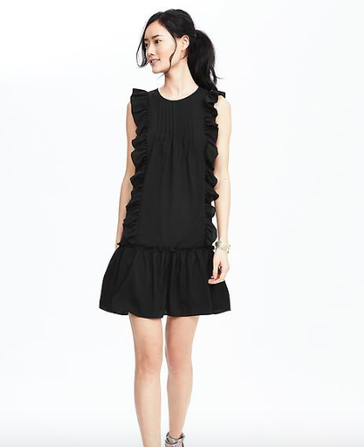 Photo credit: Banana Republic Ruffle Flounce Dress