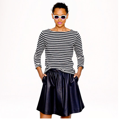 Photo credit: Jcrew Long-Sleeve Sailor-Striped T-shirt