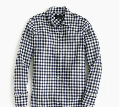 Photo credit: Jcrew Boy ShIrt in Crinkle Gingham