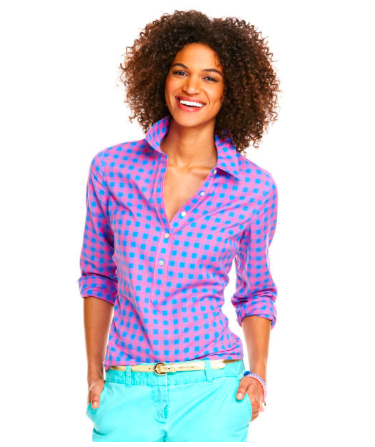 Photo credit: Vineyard Vines Three Color Gingham Popover