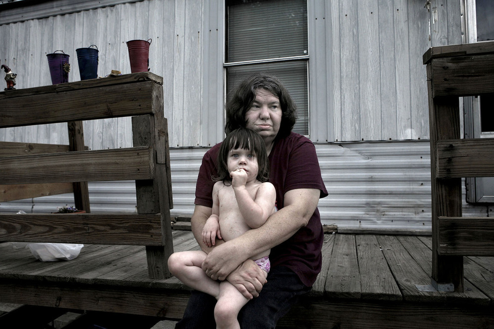 The Appalachia region in West Virginia is one of the poorest areas in the US.
