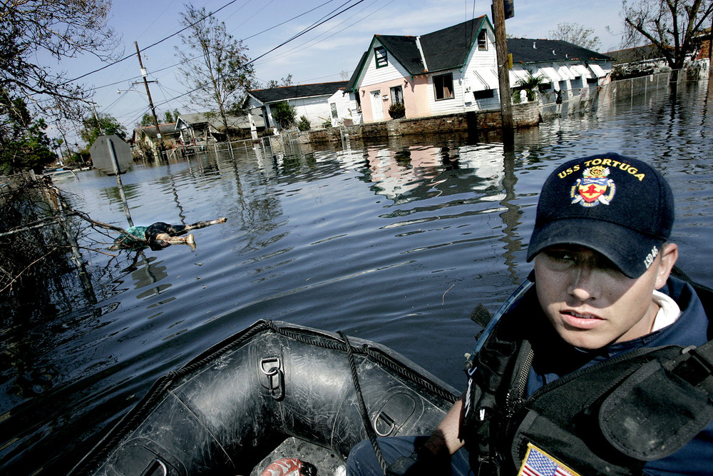 Lower Ninth Ward was one of the hardest hit neighborhoods. Over 1,000 people died there.