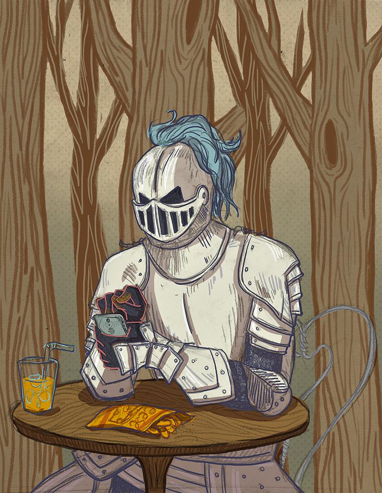 Internet White Knighting
