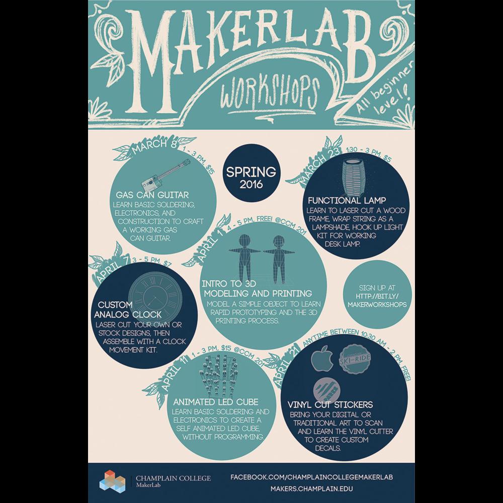 Maker Lab Event Schedule