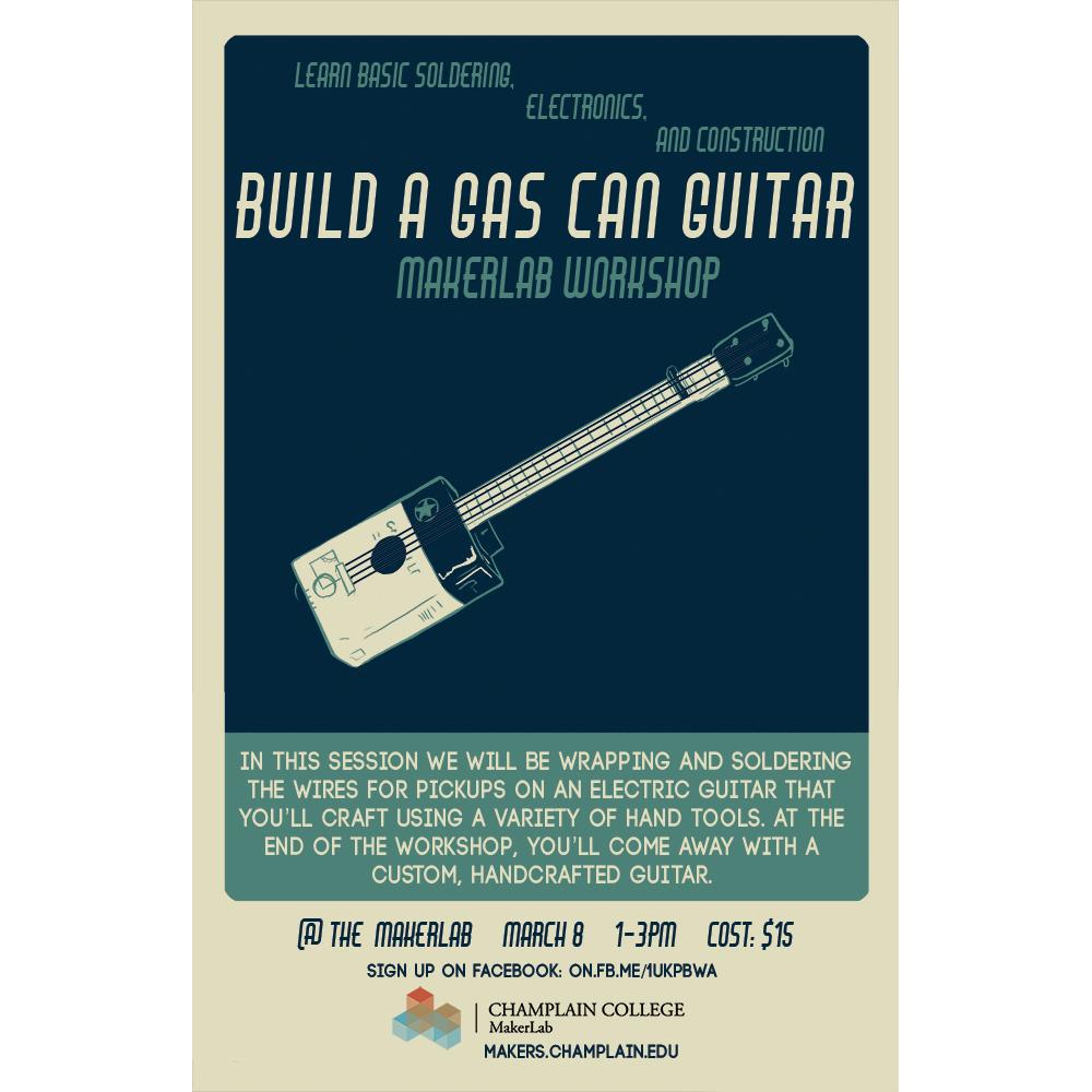 Gas Can Guitar Workshop