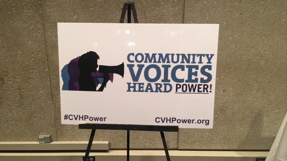 Community Voices Heard Power, a major player in advocacy for NYCHA
