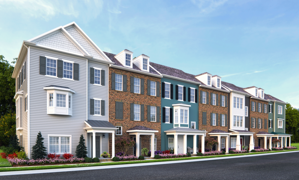 7 Unit Building, Mallory at Spence Crossing