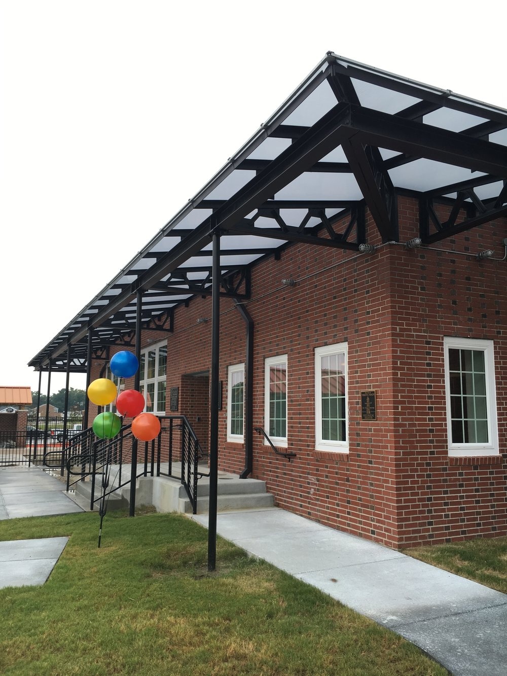 The original Cafeteria converted into a new social & activity space for the community.