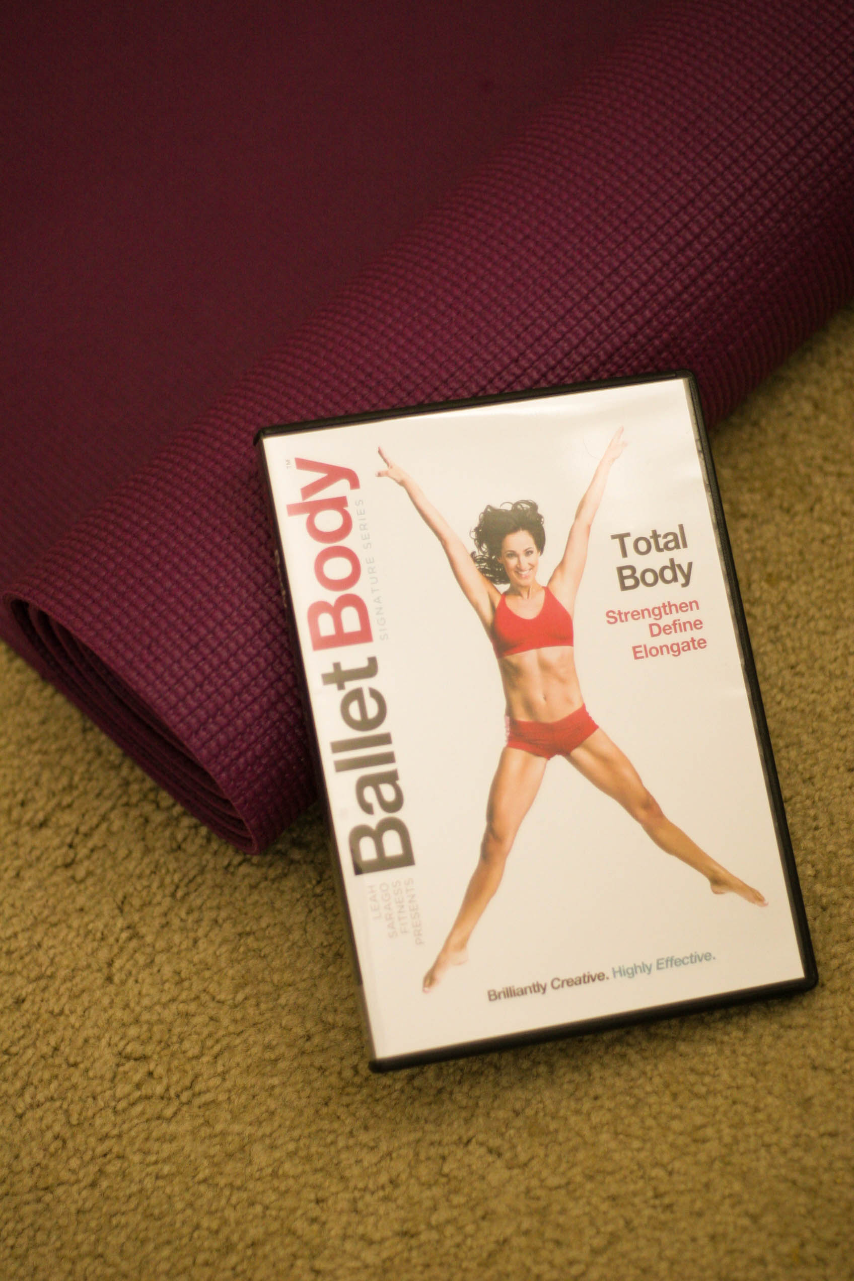 Ballet Body Total Body DVD review