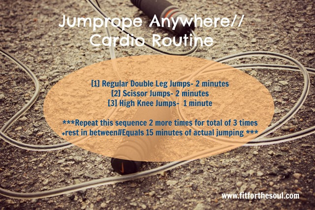 Jumprope Anywhere Cardio Routine