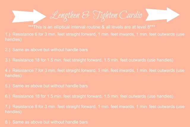 lengthen cardio
