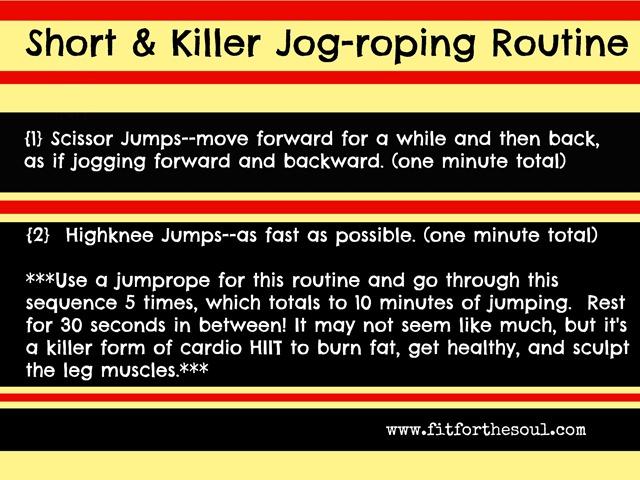 Short & Killer Jog-roping Routine