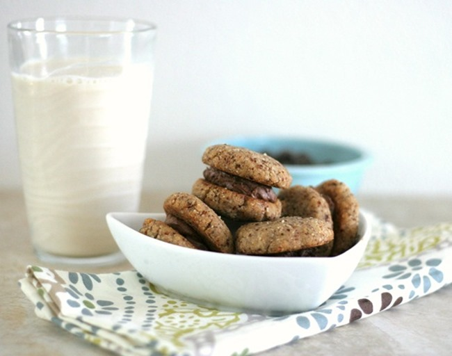 hazelnut-cookiewiches-gluten-free