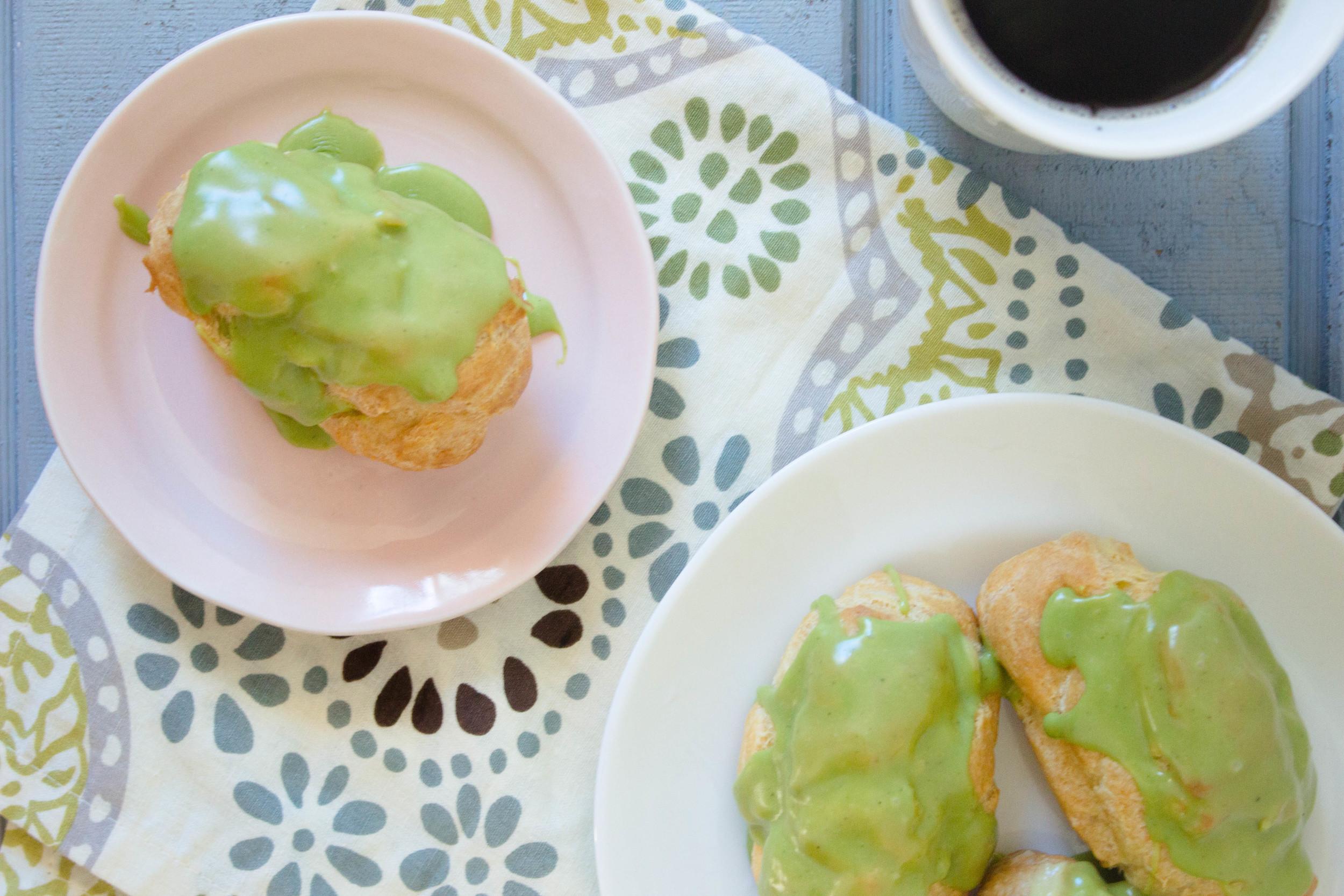 green-tea-eclair-recipe