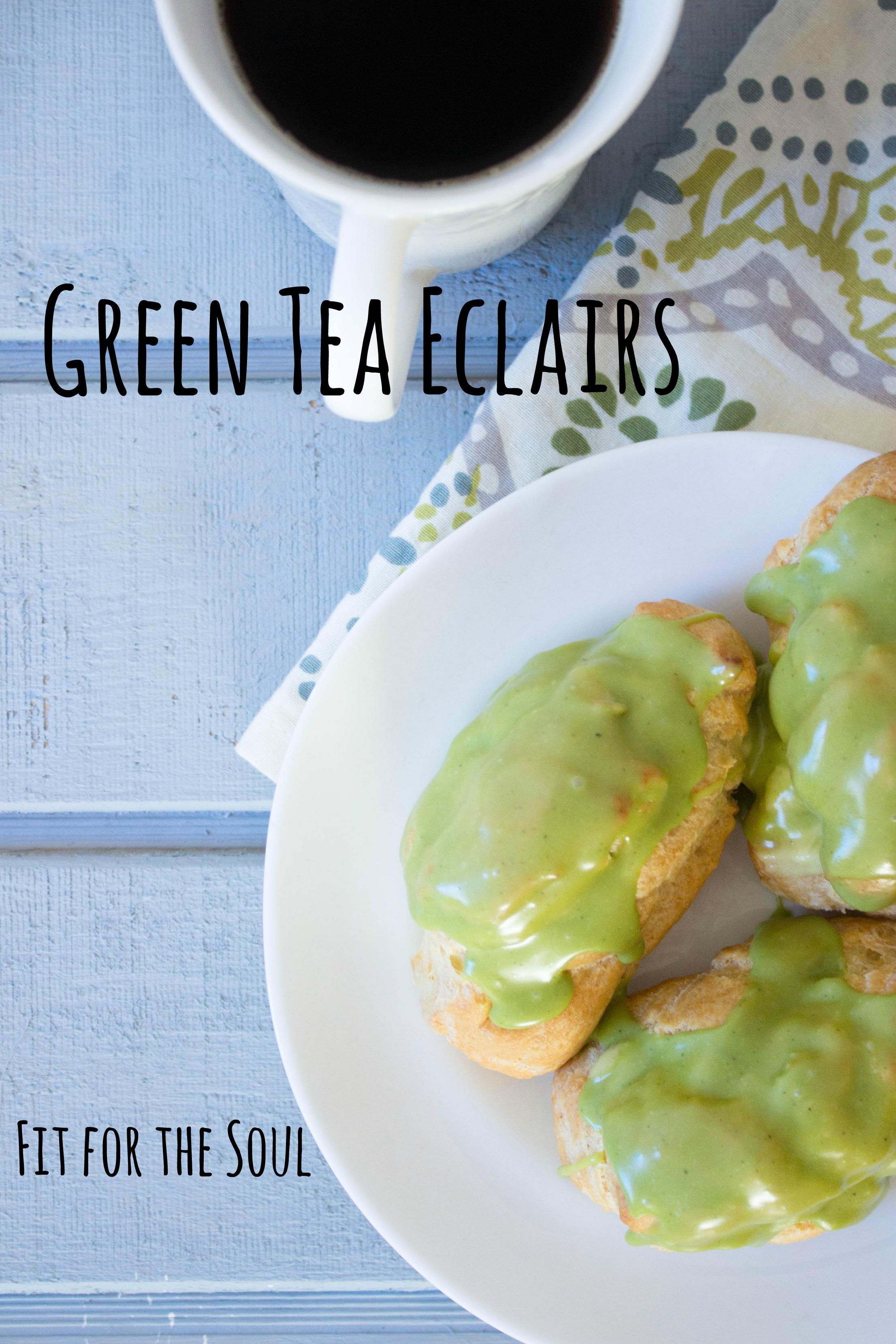 green-tea-eclairs-recipe