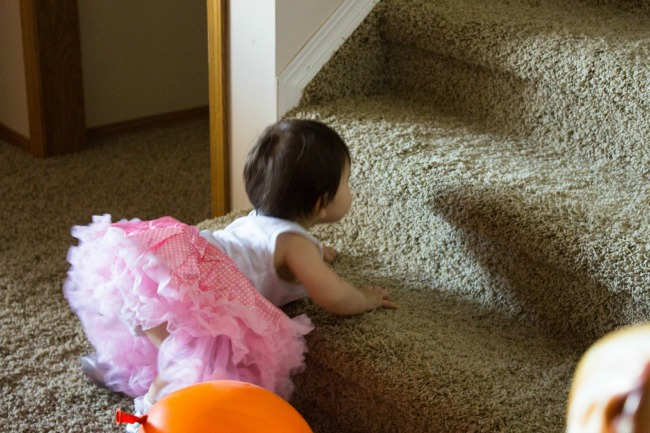 selah's-first-time-climbing-stairs