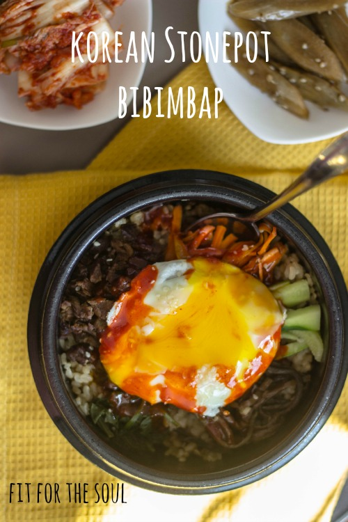 How to make stonepot (dohlsot) bibimbap step by step | fit for the soul