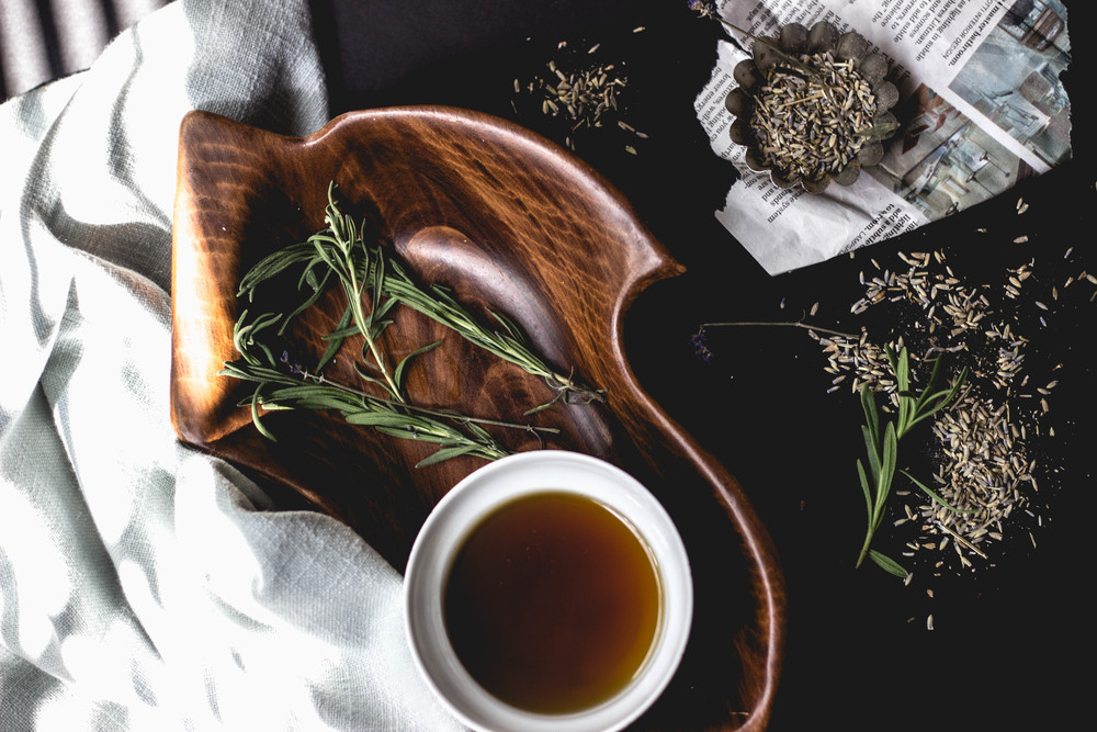 lavender maple syrup | fit for the soul