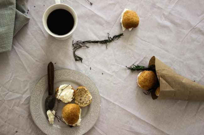 Homemade whole wheat buns with lavender cream6.jpg