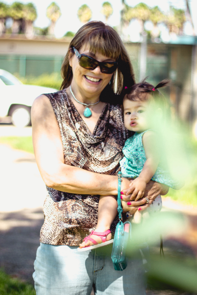 Selah and Grandma at Wilson Park | fit for the soul