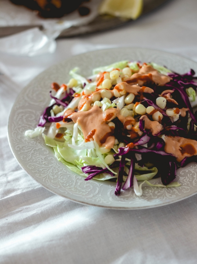 Korean Slaw salad recipe {Love Letter style} by fit for the soul