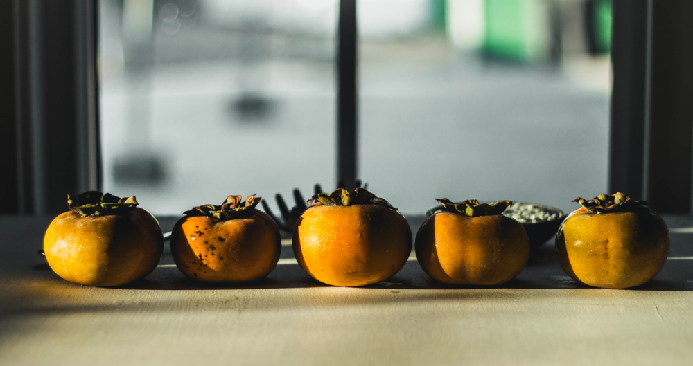 Persimmons in the sunlight | fit for the soul