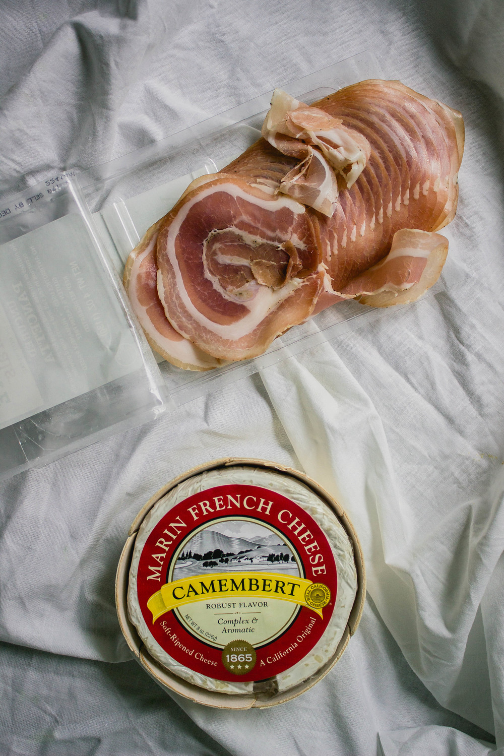 Applegate Farms prosciutto and Marin French Camembert Cheese for Thanksgiving | fit for the soul