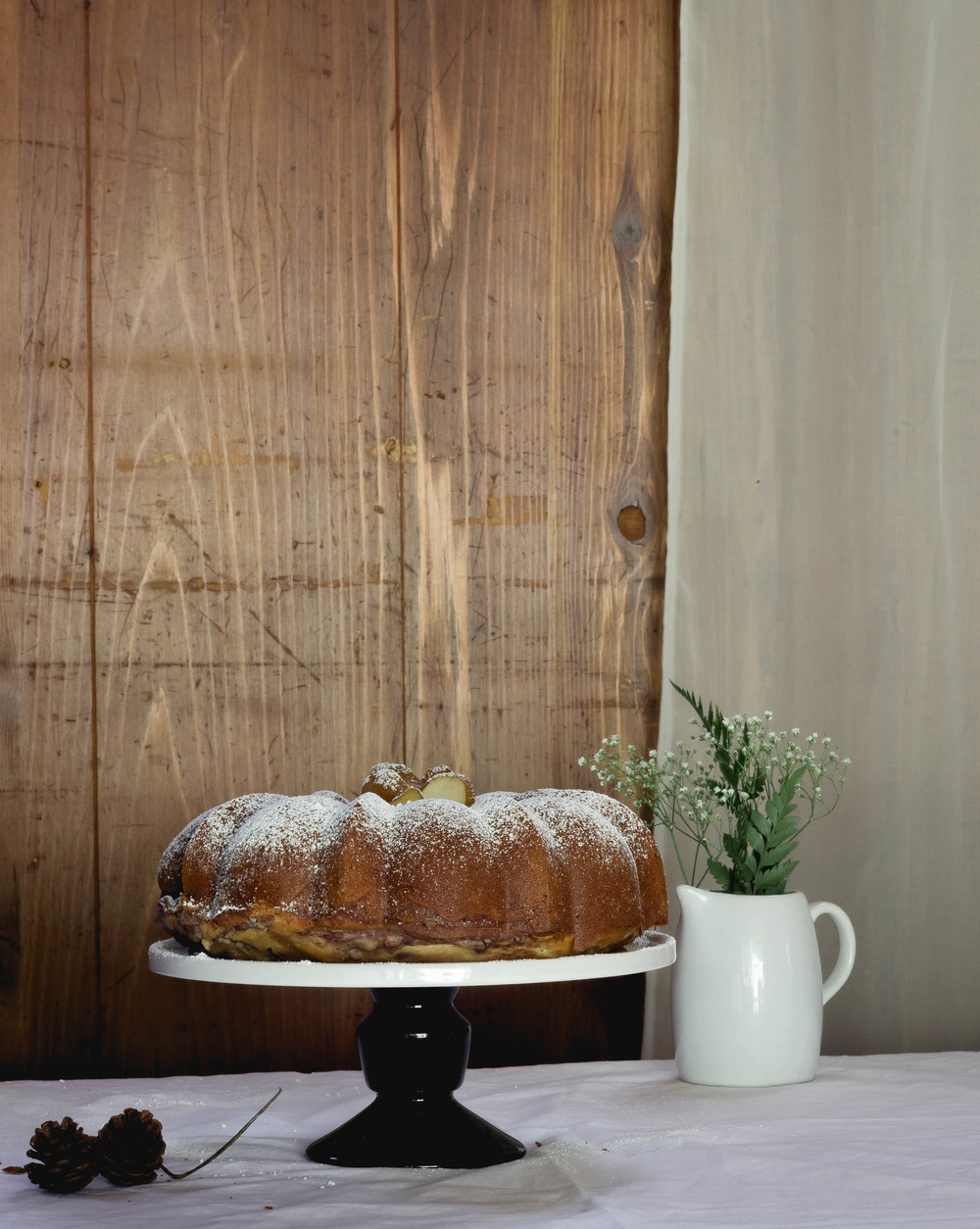 Mochi Red Bean Bundt Cake for Autumn | fit for the soul