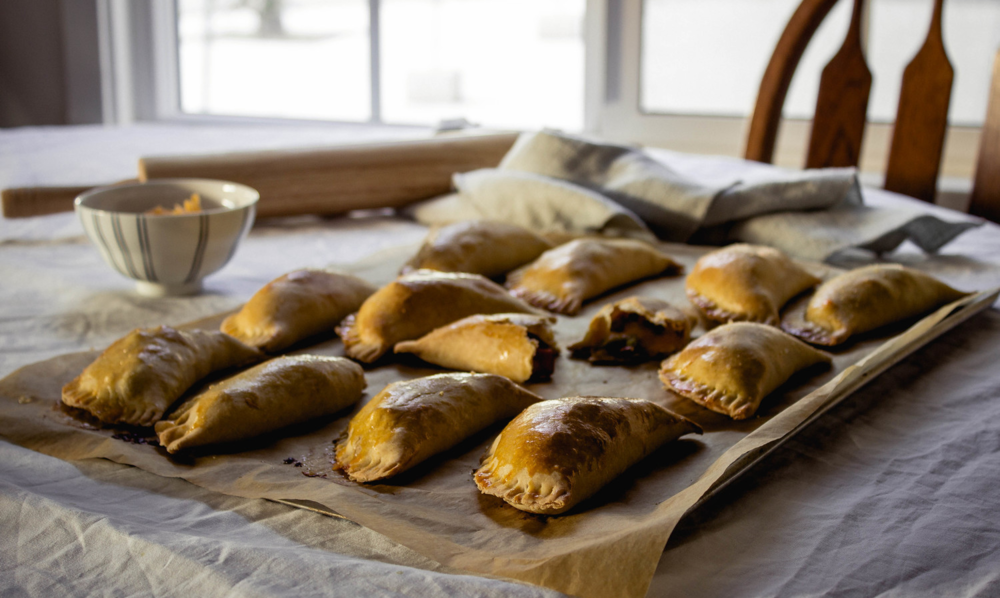 Ham and cheese empanada recipe and homemade empanada disks | by fit for the soul