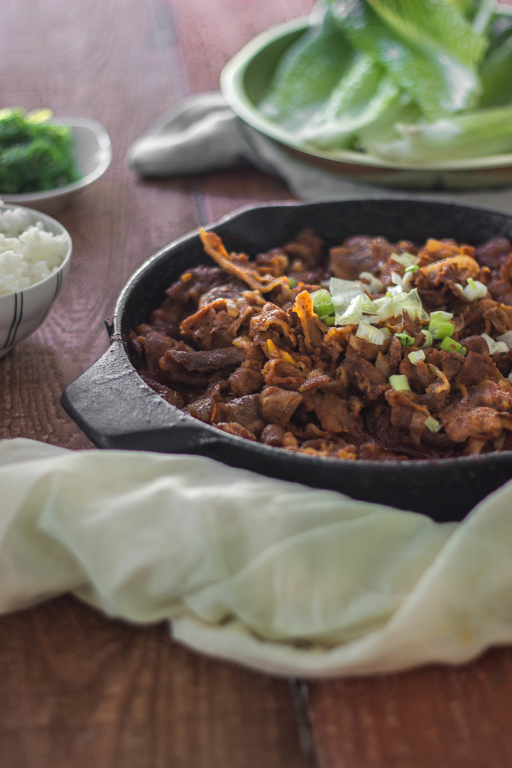 How to make spicy pork bulgogi | by fit for the soul