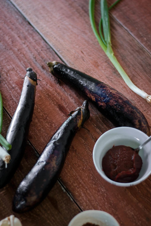 Korean recipe seasoned eggplant side dish healthy gaji namul korean eggplant side dish by fit for the soul forumfinder Gallery