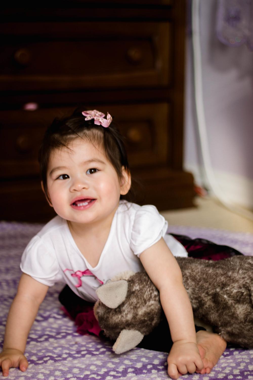 Selah at 1.5 years old