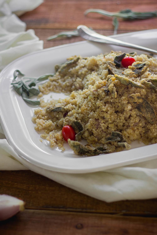 Creamy quinoa with macadamia and fried sage.jpg