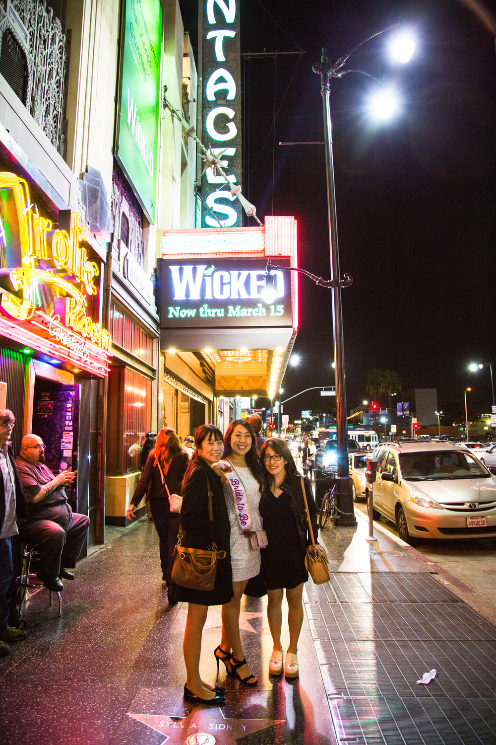 Wicked at Pantages Theatre