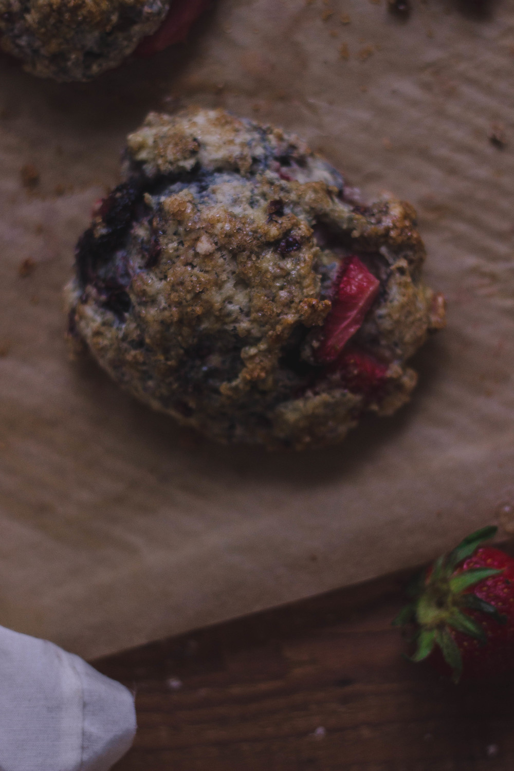 How to make really moist and creamy berry scones | by fit for the soul