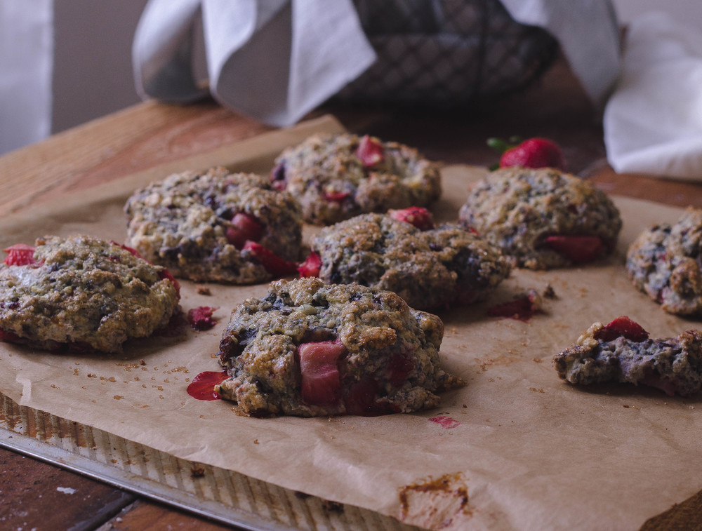 Recipe for the best berry scones | by fit for the soul