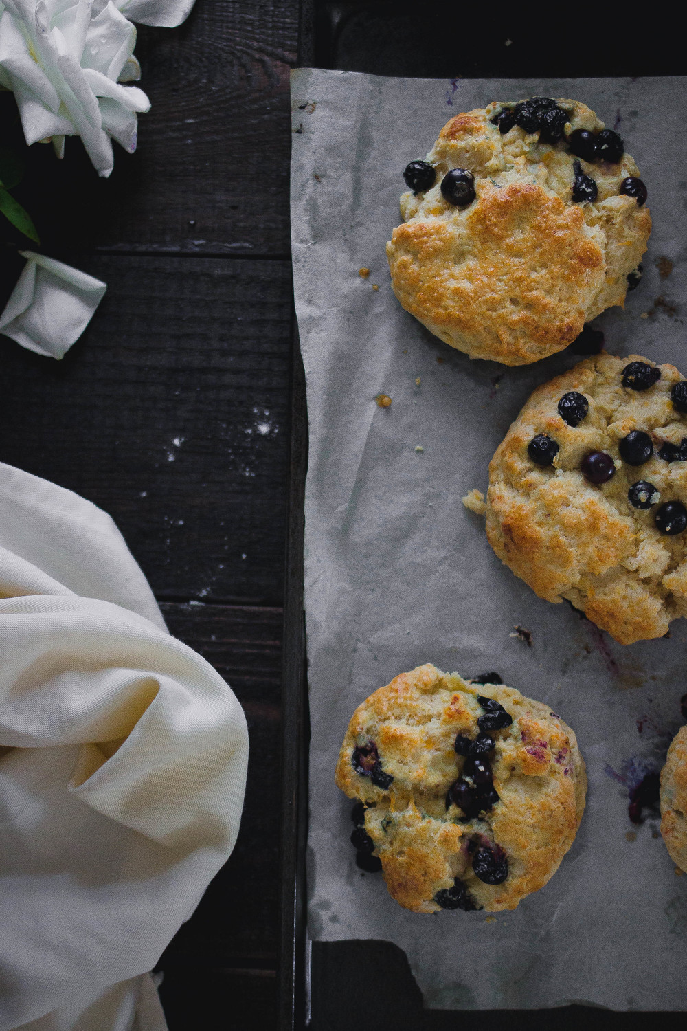 Recipe for the best cheddar fruit scones | by fit for the soul
