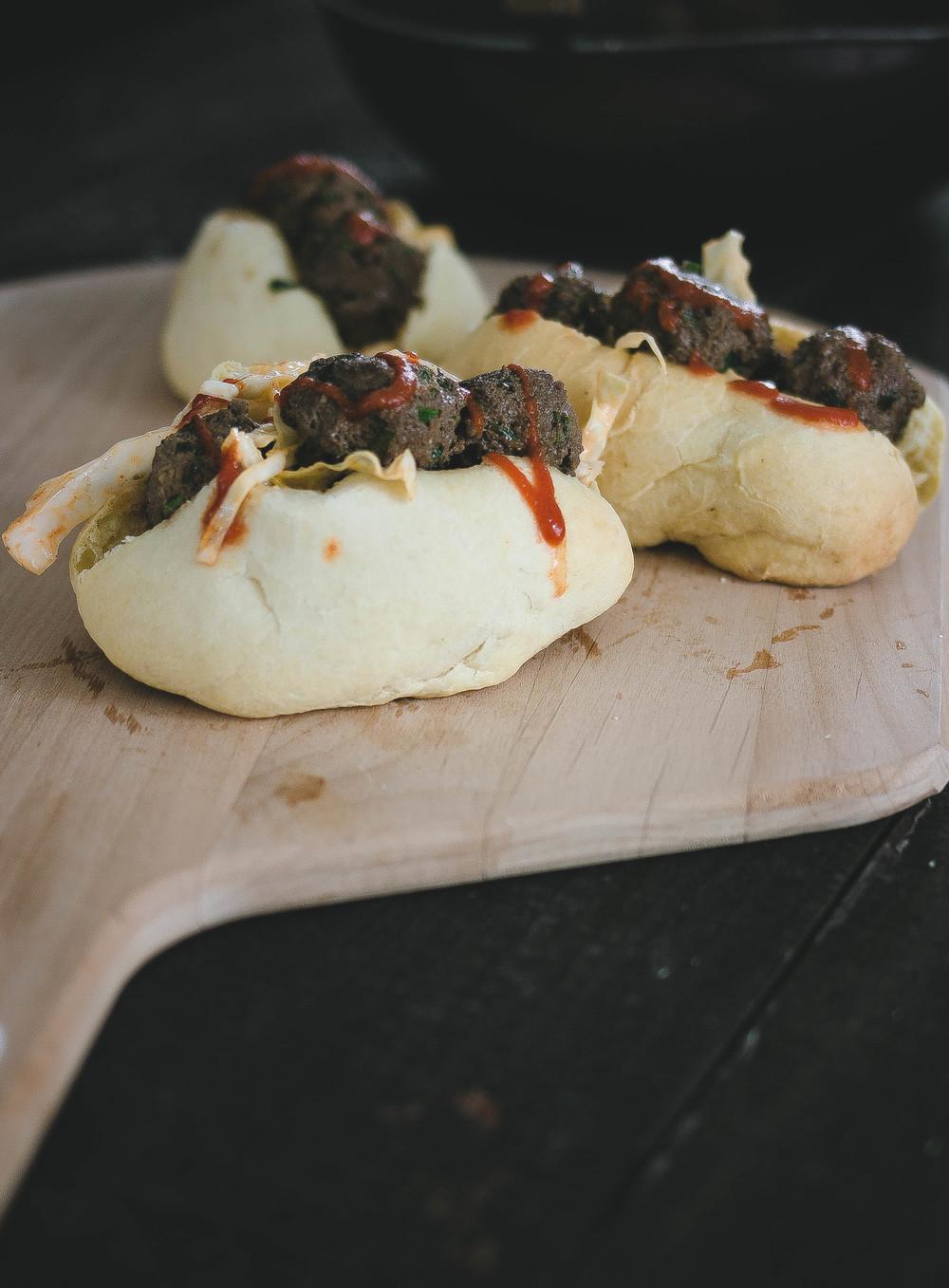 Hokkaido Milk Buns and Spicy Bulgogi Meatball Sandwich 7.jpg