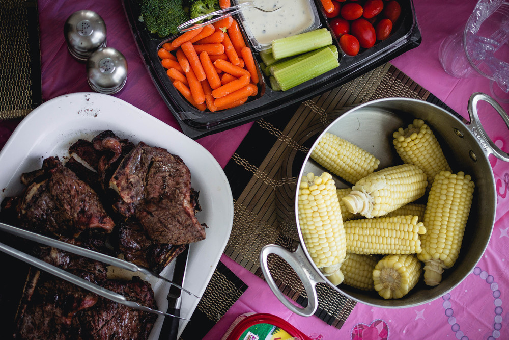 Steak birthday party | by fit for the soul