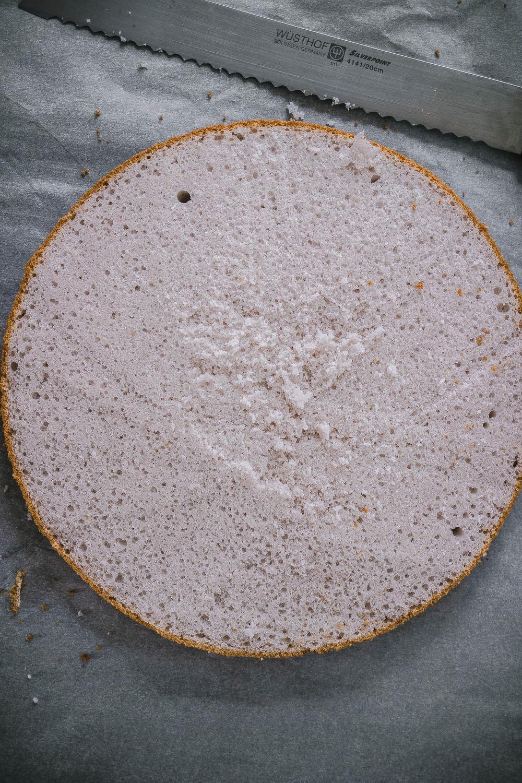 Taro Chiffon Cake Recipe