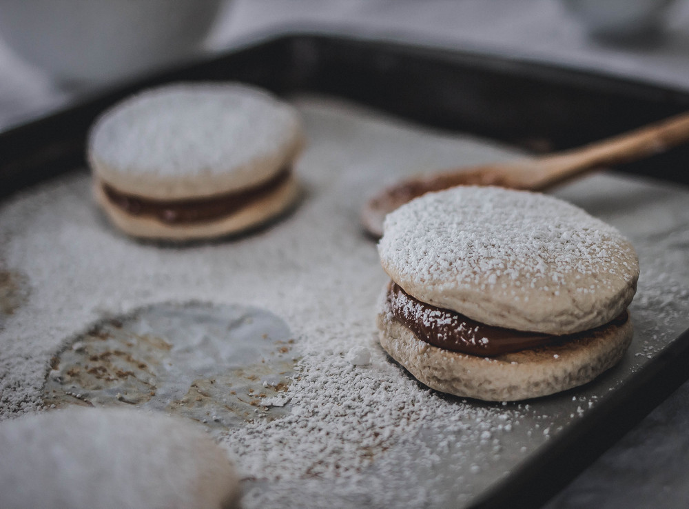 Recipe for alfajores de maizena and star anise   by fit for the soul