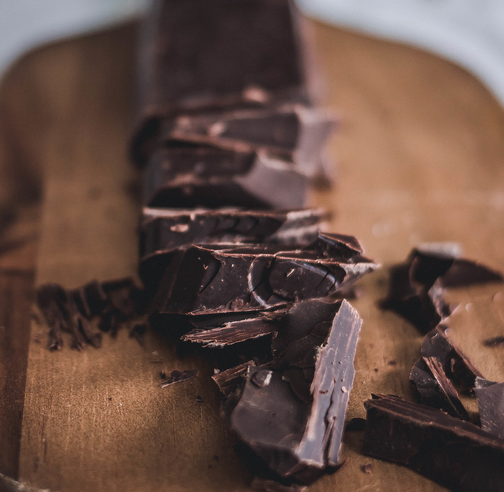 Valrhona Dark Chocolate in Alfajor Recipe | by fit for the soul