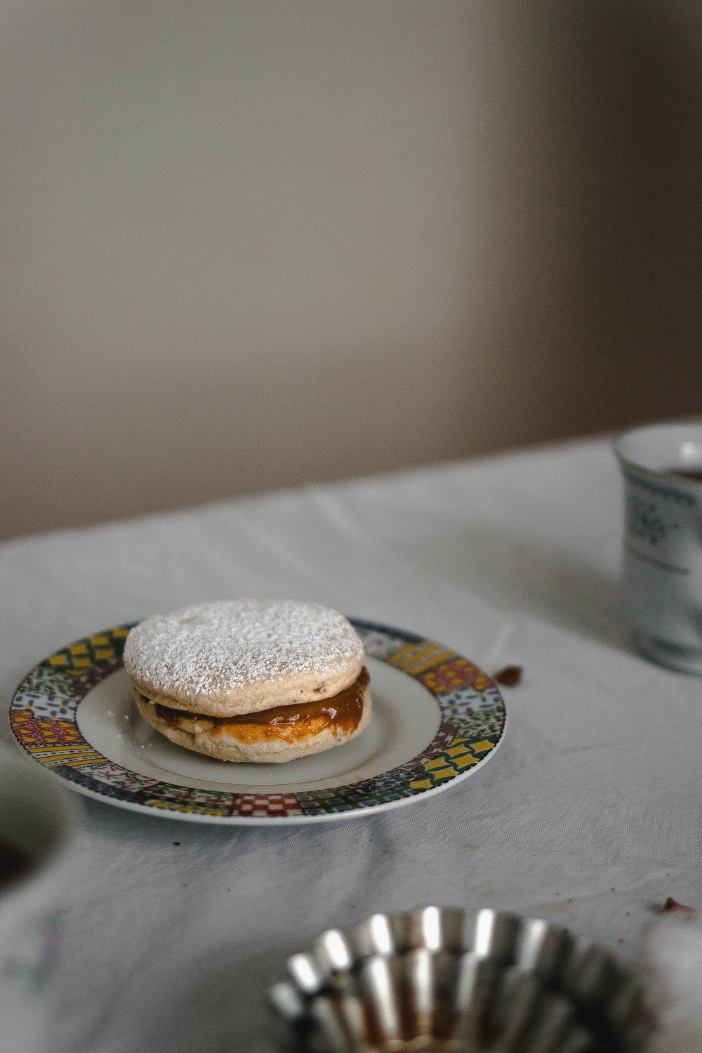 Receta de alfajores de maizena y anis | by fit for the soul
