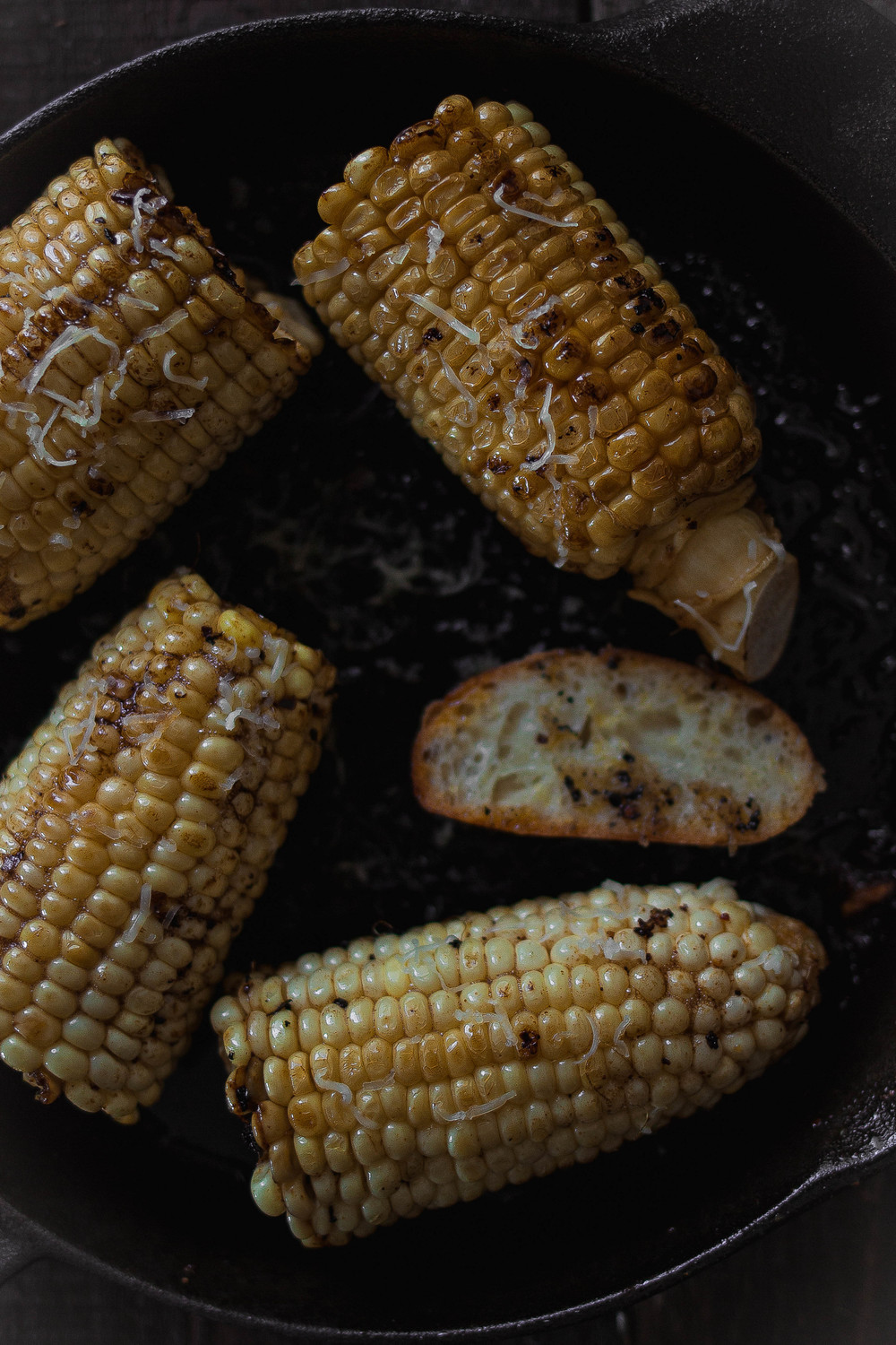 Brown butter gochujang corn {in cast iron, grilled, or baked}3.jpg