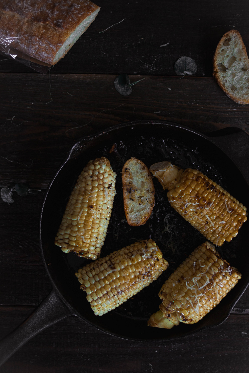 Brown butter gochujang corn {in cast iron, grilled, or baked} | by fit for the soul