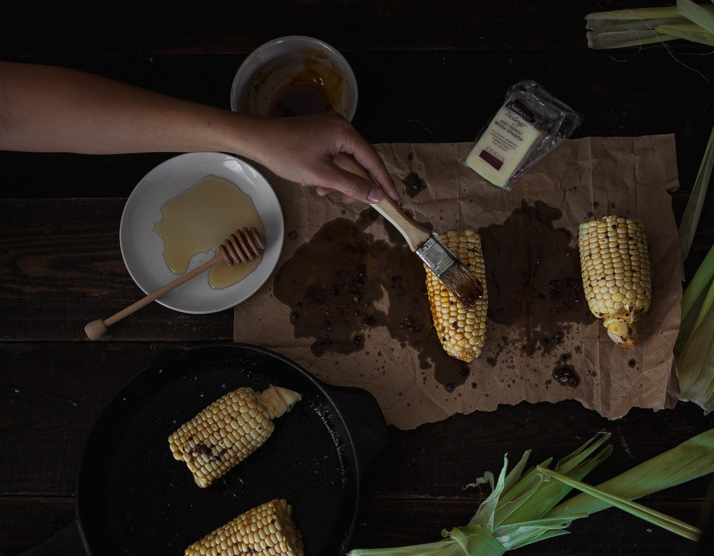 Gochujang Brown Butter Corn Recipe | by fit for the soul